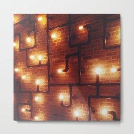 Light Pipe Metal Print