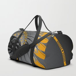 Honor and Strength Yellow Duffle Bag