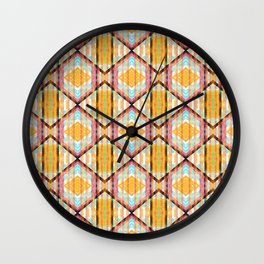 Colorful Kaleidoskop Wall Clock