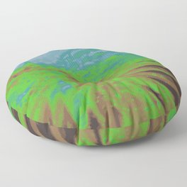 Psychedelica Chroma XIV Floor Pillow
