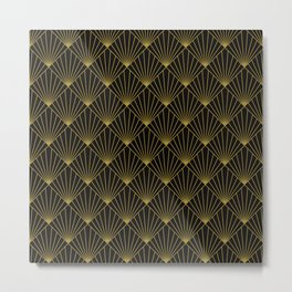 square pattern Metal Print