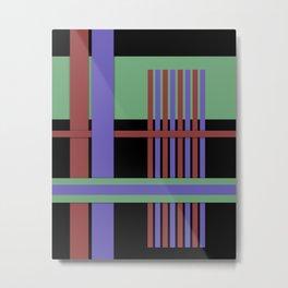Abstract #407 Metal Print