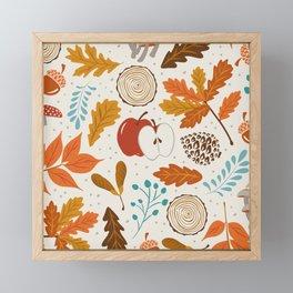 Autumn Woods Framed Mini Art Print