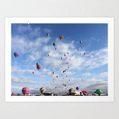 Balloons, Albuquerque, New Mexico Art Print