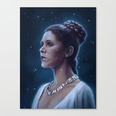 One With The Force Canvas Print