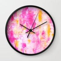 fancy Wall Clocks featuring Fancy by T30 Gallery