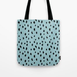 Seeing Spots in Robins Egg Tote Bag