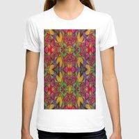 escher T-shirts featuring Escher Tile by RingWaveArt