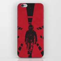 2001 iPhone & iPod Skins featuring 2001 by Geminianum