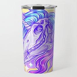 Unicorn Skull Travel Mug