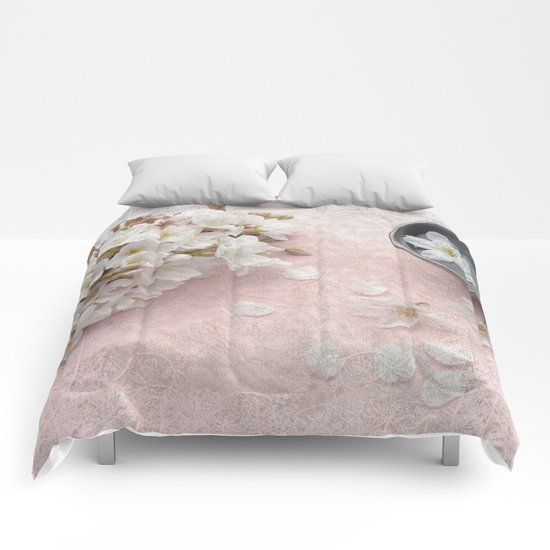 Cherry Blossom #7 Comforters