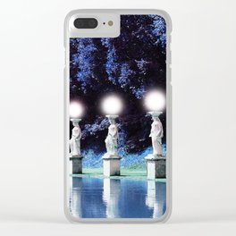 Villa Adriana (Italy) - Imaginative Lights Clear iPhone Case