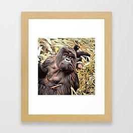 ArtAnimal Gorilla Framed Art Print