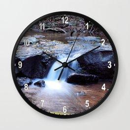 Curtis Falls Cascades Wall Clock
