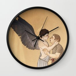 the righteous man Wall Clock