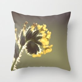 Curl Throw Pillow