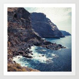 Wild Coast - La Palma - Canary Islands Art Print