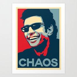 Ian Malcolm 'Chaos Art Print