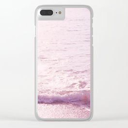 Pastel day Clear iPhone Case
