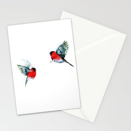 Couple of birds Stationery Cards