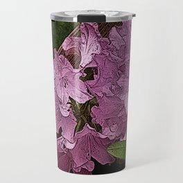 Azalea Flowers PhotoArt Travel Mug