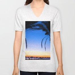Beach Baby Unisex V-Neck