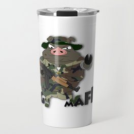 Pig Mafia Travel Mug