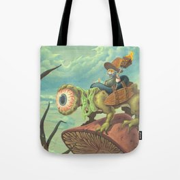 "The Search, 13""x24"" Tote Bag"