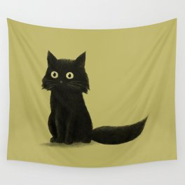 Sitting Cat Wall Tapestry