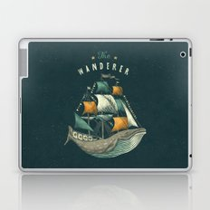 Whale | Petrol Grey Laptop & iPad Skin