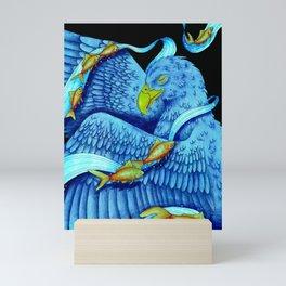 Swim Soar Mini Art Print