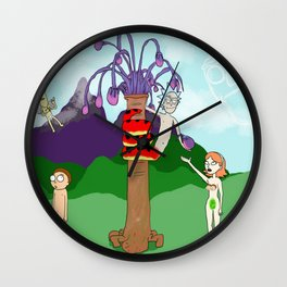 Orickinal Sin (Censored) Wall Clock