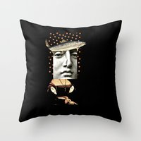 budapest Throw Pillows featuring Budapest by Studio Judith