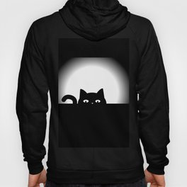 Peeking Cat Hoody