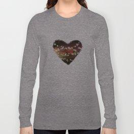 Space Heart Long Sleeve T-shirt