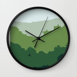 ENVIRONMENTS: FOREST Wall Clock