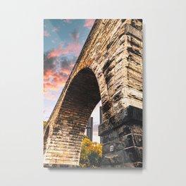 Stone Arch Bridge-Minneapolis Architecture Metal Print