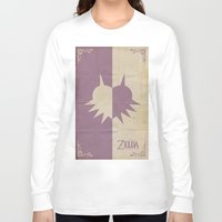 majoras mask Long Sleeve T-shirts featuring Majoras Mask by cbrucc