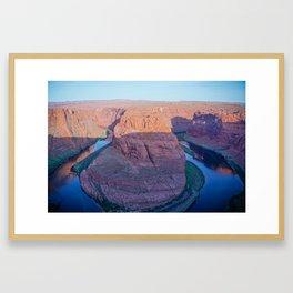 Horseshoe Bend in Arizona Framed Art Print
