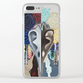 My Fair Lady Half Inverse Clear iPhone Case