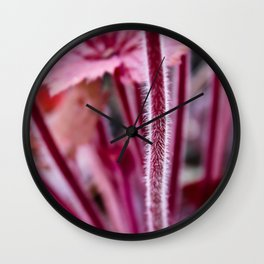 The Hairy Stem Wall Clock