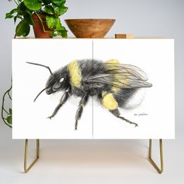 White-tailed bumblebee Credenza