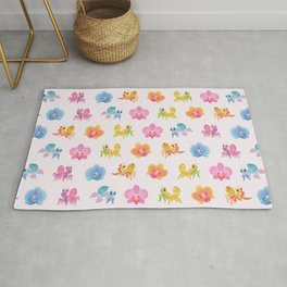 Orchid mantis Rug