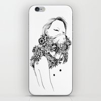 gangster iPhone & iPod Skins featuring Gangster by Avalon lewis