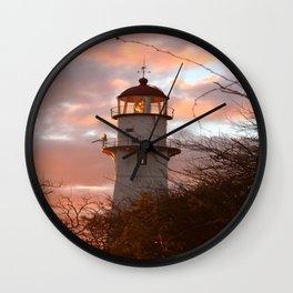 Follow the Light Home Wall Clock