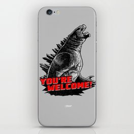 Gojira '14: You're Welcome! iPhone Skin