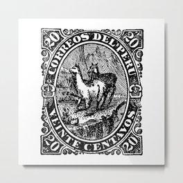 Correos del Peru Metal Print