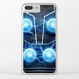 Vikings Thor I Am The Storm Clear iPhone Case