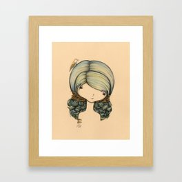 Anne n Belle Framed Art Print