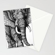Ornate Elephant v.2 Stationery Cards